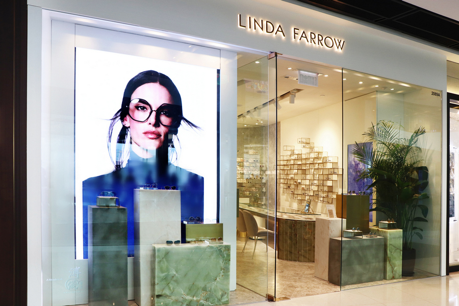 Linda Farrow Opens New Hong Kong Store in ifc mall, Central