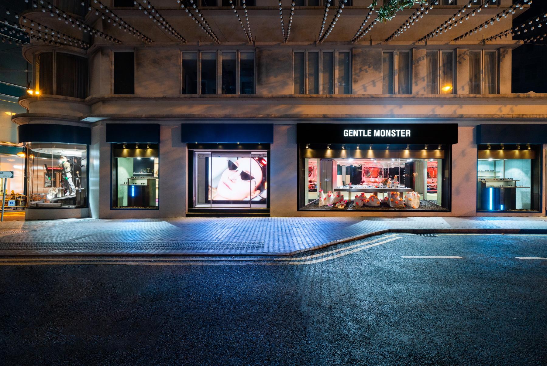 GENTLE MONSTER香港旗舰店展现13月奇异世界